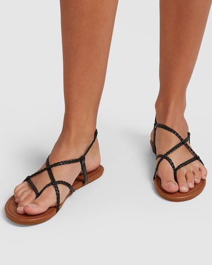5 Crossing Over 3 Sandals Black 6603815 Billabong