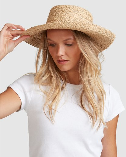 1 Bonita Straw Hat Beige 6604314 Billabong