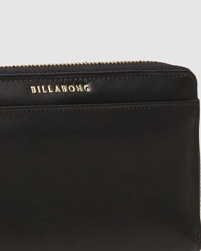 3 Big City Leather Wallet Black 6607204 Billabong