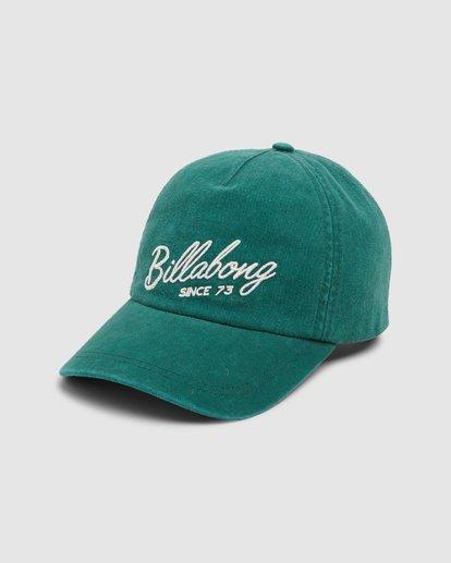 0 Go Getter Cap Green 6607306 Billabong