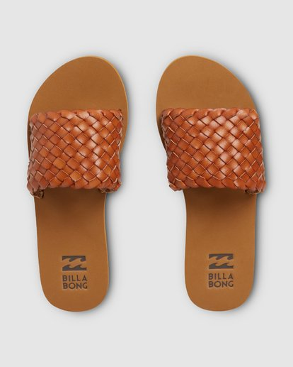 0 One Way Slides Beige 6607806 Billabong
