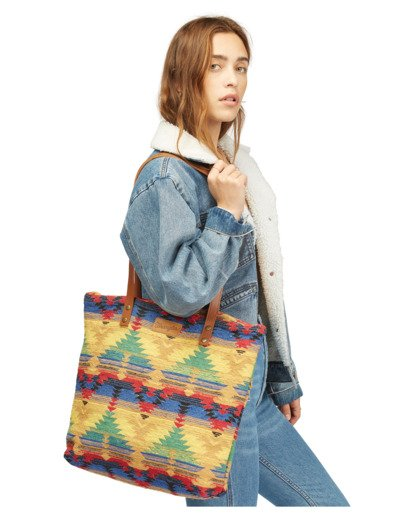 1 Wrangler Show Off Tote Bag Grey 6613119 Billabong