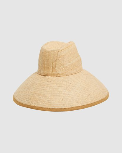 4 Throwin Shade Straw Hat Beige 6613318 Billabong