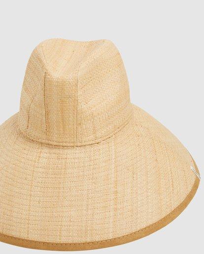 5 Throwin Shade Straw Hat Beige 6613318 Billabong