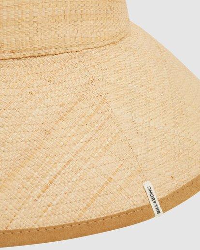 6 Throwin Shade Straw Hat Beige 6613318 Billabong