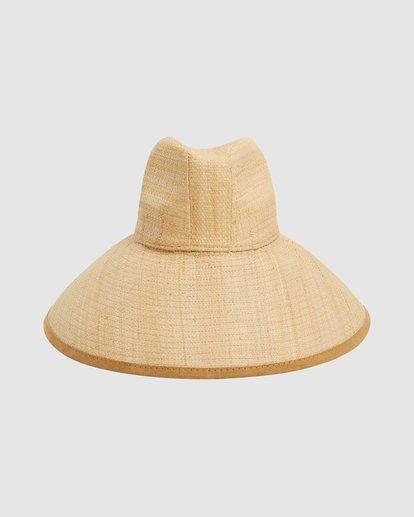 1 Throwin Shade Straw Hat Beige 6613318 Billabong