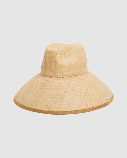 2 Throwin Shade Straw Hat Beige 6613318 Billabong