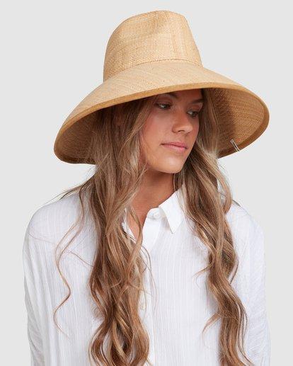 7 Throwin Shade Straw Hat Beige 6613318 Billabong