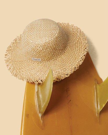 0 Wrangler Pick A Straw Hat Beige 6613323 Billabong