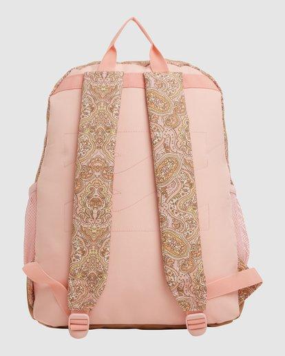 3 Wild Sun Tiki Backpack Pink 6617004 Billabong
