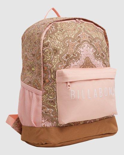 1 Wild Sun Tiki Backpack Pink 6617004 Billabong