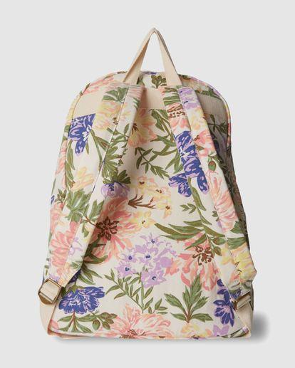 1 Shools Out Backpack White 6617012 Billabong
