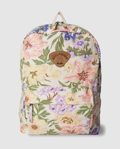 0 Shools Out Backpack White 6617012 Billabong