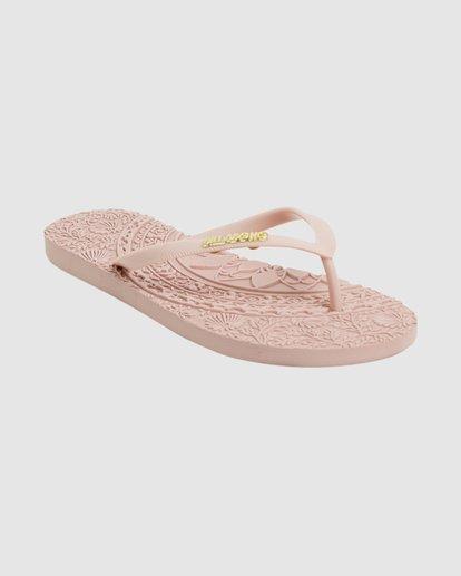 0 Crystal Skies Thongs Pink 6617805 Billabong
