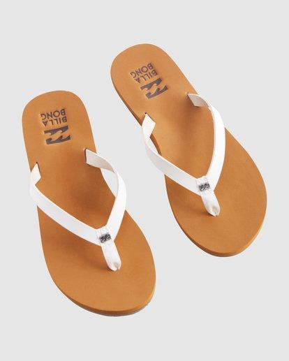3 Shore Breakerz Sandals White 6617821 Billabong