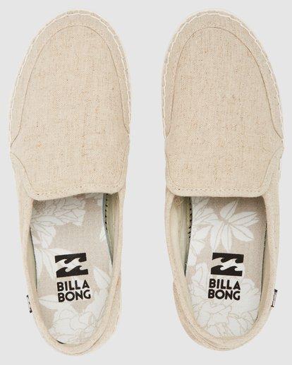 4 Del Sol Shoes Beige 6617880 Billabong