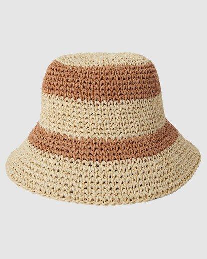 2 So Simple Hat Beige 6618315 Billabong