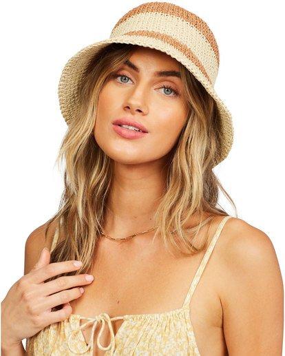 1 So Simple Hat Beige 6618315 Billabong