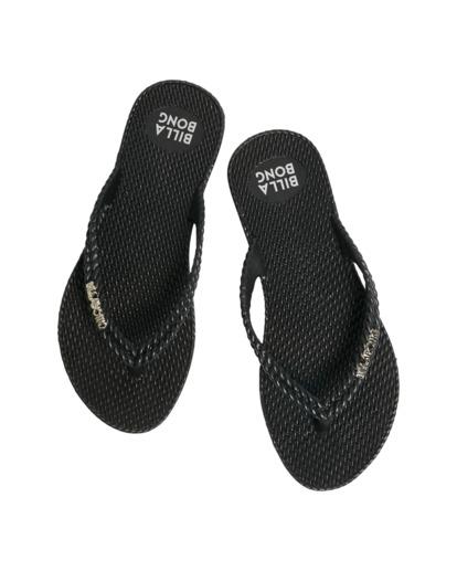 4 Kick Back Solid Thongs Black 6661856 Billabong