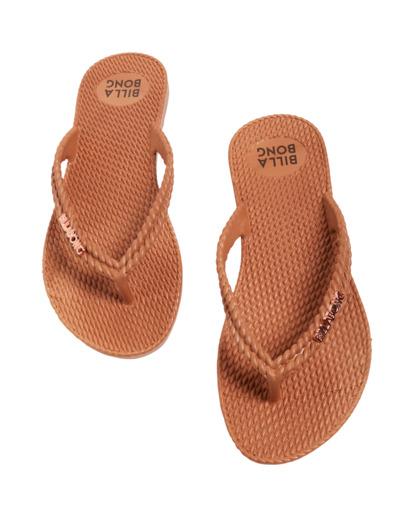 4 Kick Back Solid Thongs Brown 6661856 Billabong