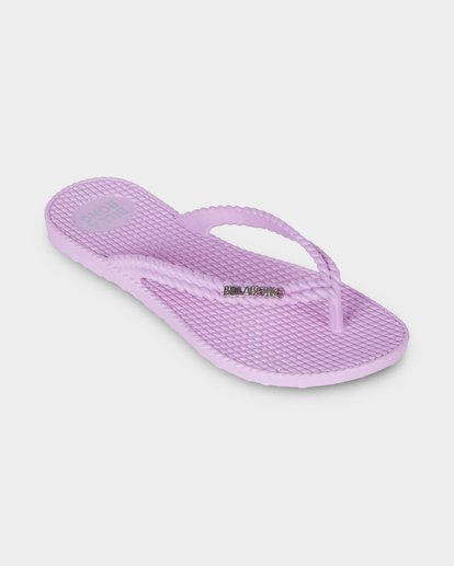 1 Kick Back Solid Thongs Purple 6661856 Billabong