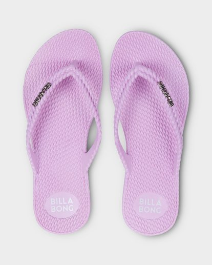 0 Kick Back Solid Thongs Purple 6661856 Billabong