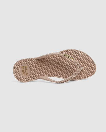 5 Kick Back Solid Thongs Beige 6661856 Billabong