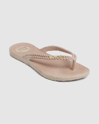 1 Kick Back Solid Thongs Beige 6661856 Billabong
