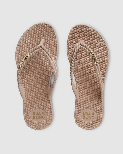 7 Kick Back Solid Thongs Beige 6661856 Billabong
