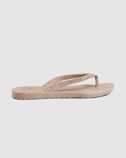 3 Kick Back Solid Thongs Beige 6661856 Billabong