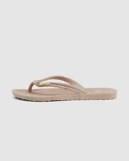 4 Kick Back Solid Thongs Beige 6661856 Billabong