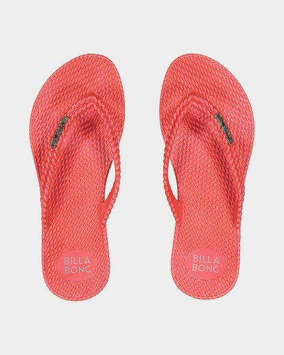 0 Kick Back Thongs Red 6661856 Billabong