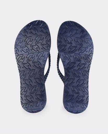 2 Kick Back Solid Thongs Blue 6661856 Billabong