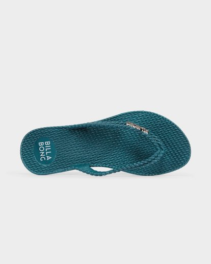 4 Kick Back Thongs Green 6661856 Billabong