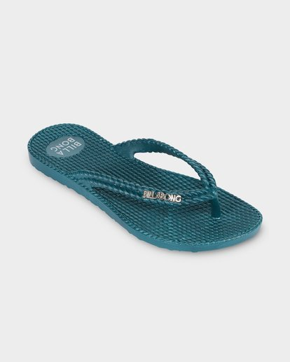 1 KICK BACK THONGS Green 6661856 Billabong