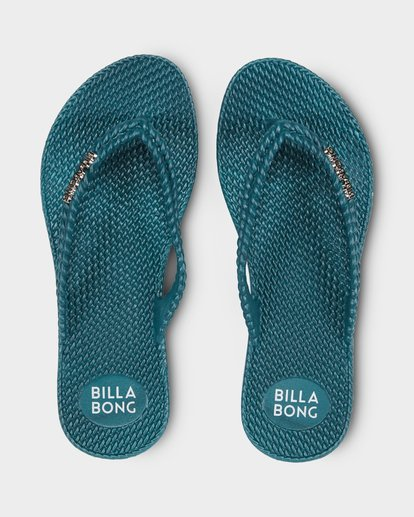 0 KICK BACK THONGS Green 6661856 Billabong