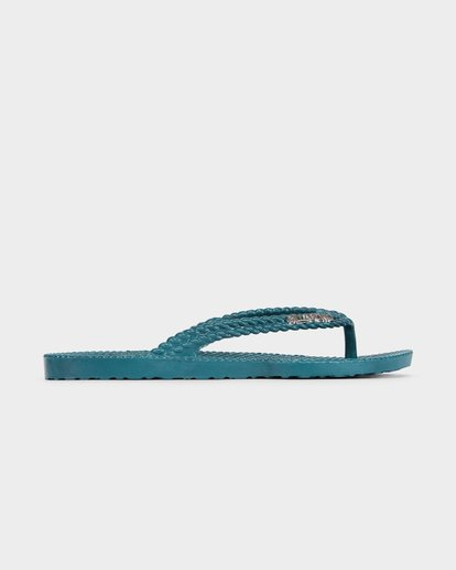 3 KICK BACK THONGS Green 6661856 Billabong