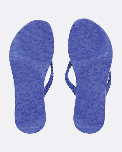 2 Kick Back Solid Thongs Blue 6661856 Billabong