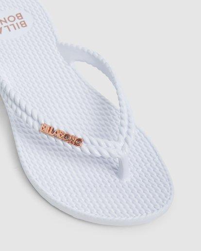 7 Kick Back Solid Thongs White 6661856 Billabong
