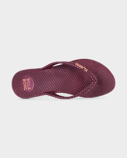 4 KICK BACK THONGS Red 6661858 Billabong