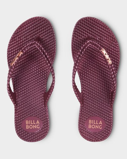 1 Kick Back Thongs Red 6661858 Billabong