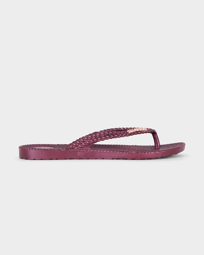 3 KICK BACK THONGS Red 6661858 Billabong