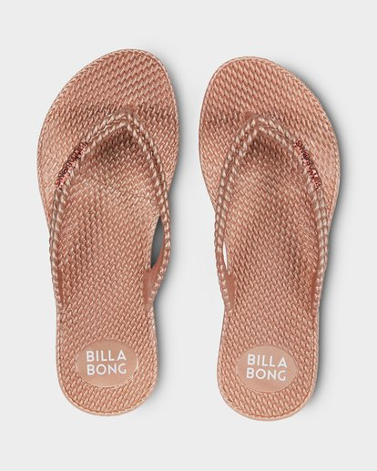 1 KICK BACK THONGS Pink 6661858 Billabong