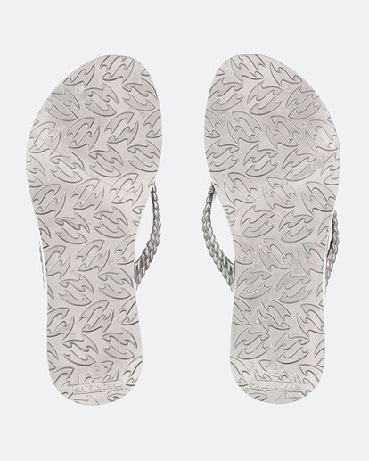 2 KICK BACK THONGS Grey 6661858 Billabong