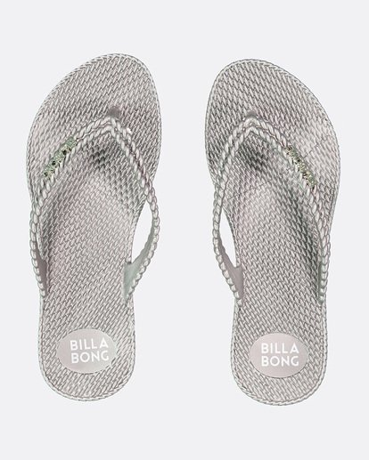 0 Kick Back Thongs Grey 6661858 Billabong