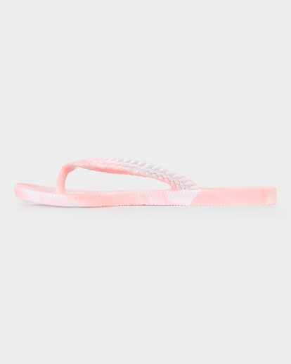 1 SUMMER DAZED MARBLE THONG Pink 6671801 Billabong