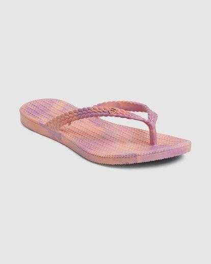 1 Summer Dazed Marble Thongs Purple 6671801 Billabong