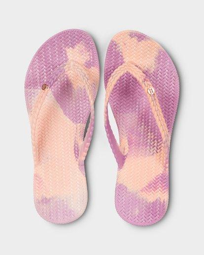 0 Summer Dazed Marble Thongs Purple 6671801 Billabong