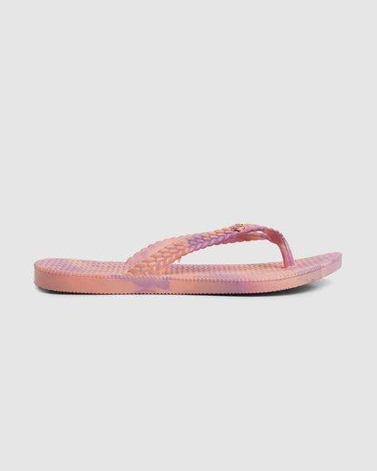 3 Summer Dazed Marble Thongs Purple 6671801 Billabong