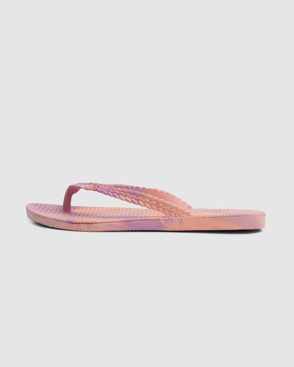 4 Summer Dazed Marble Thongs Purple 6671801 Billabong
